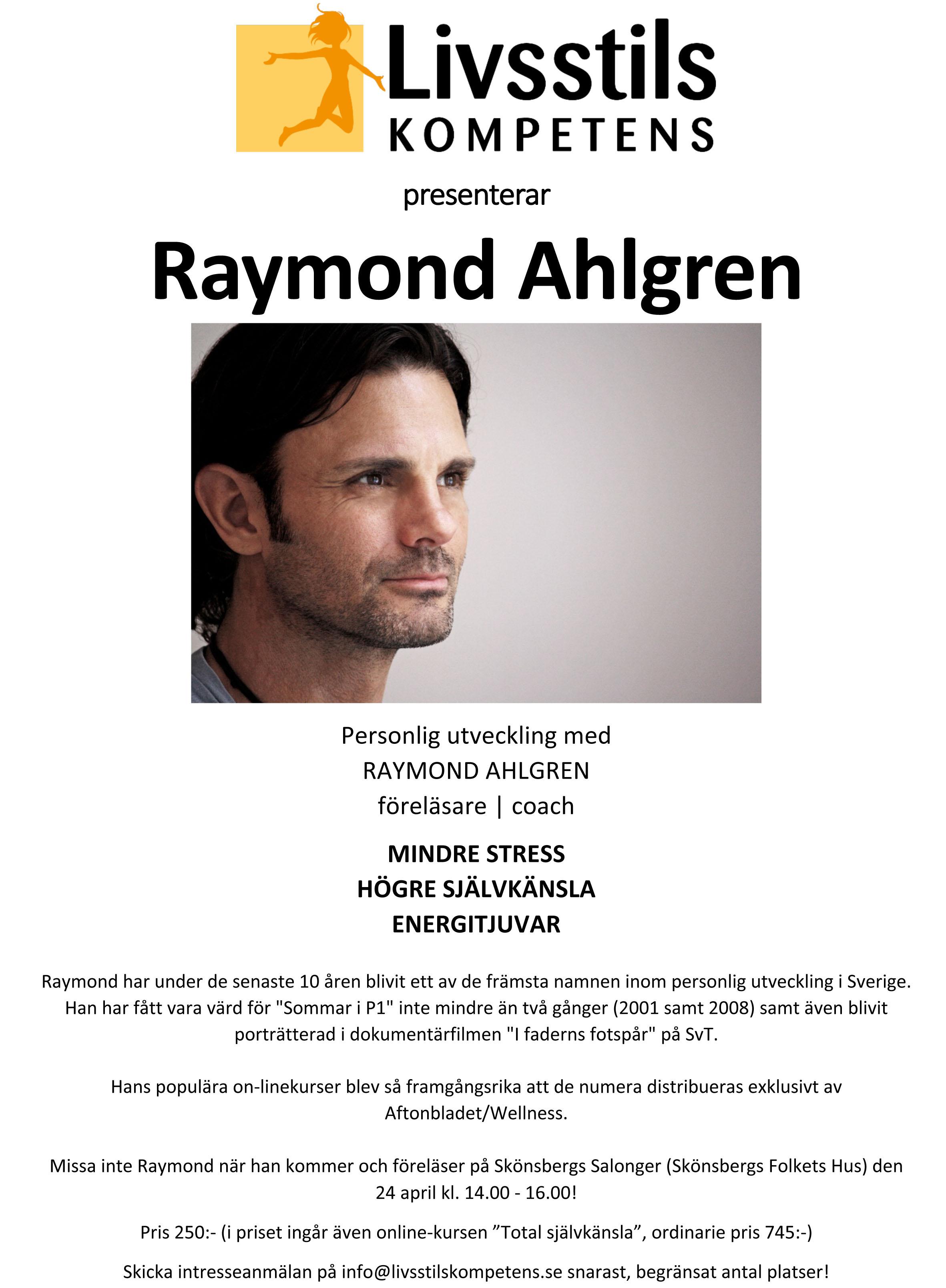 Raymond Ahlgren 24 april